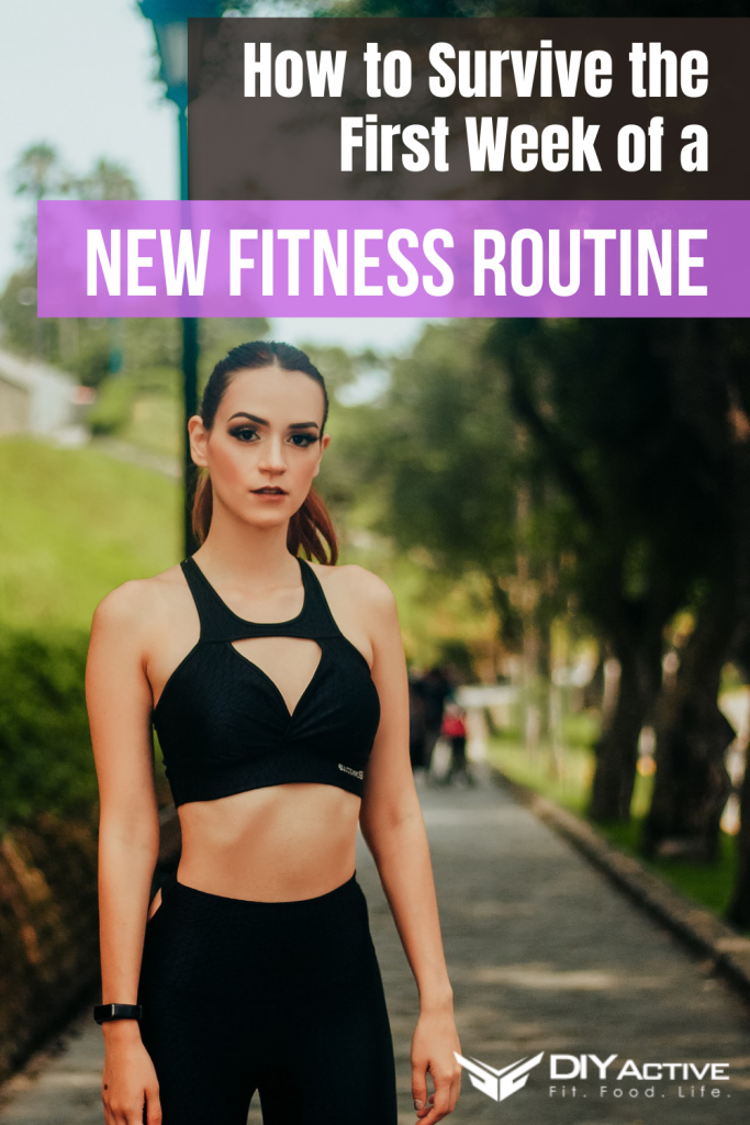 How to Survive the First Week of a New Fitness Routine