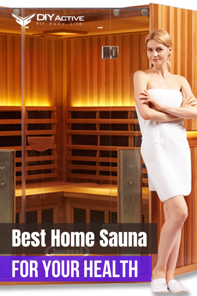 Best Home Sauna for Recovery and Overall Wellness Pin