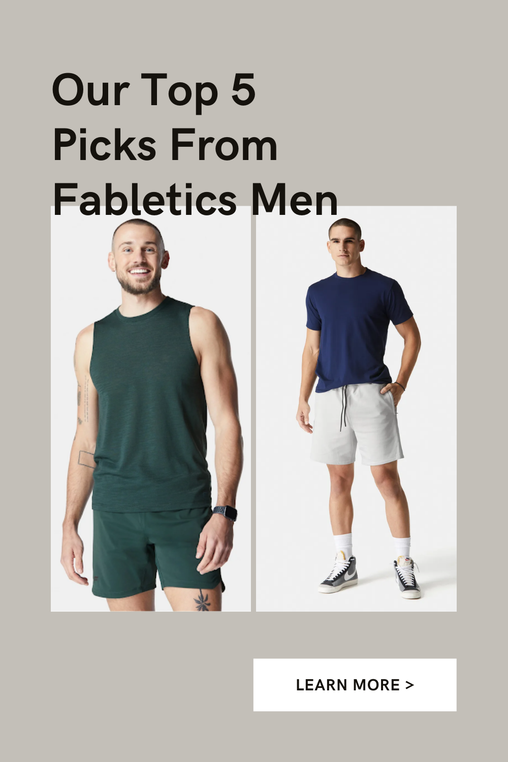 Our Top 5 Picks From Fabletics Men