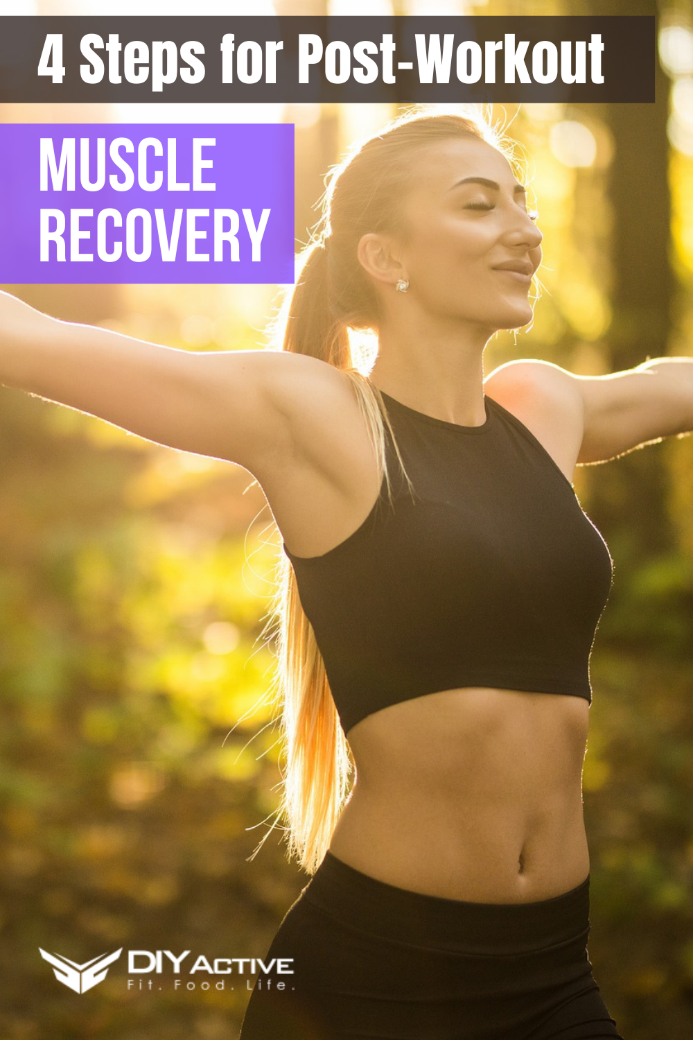 4 Steps for Effective Post-Workout Muscle Recovery